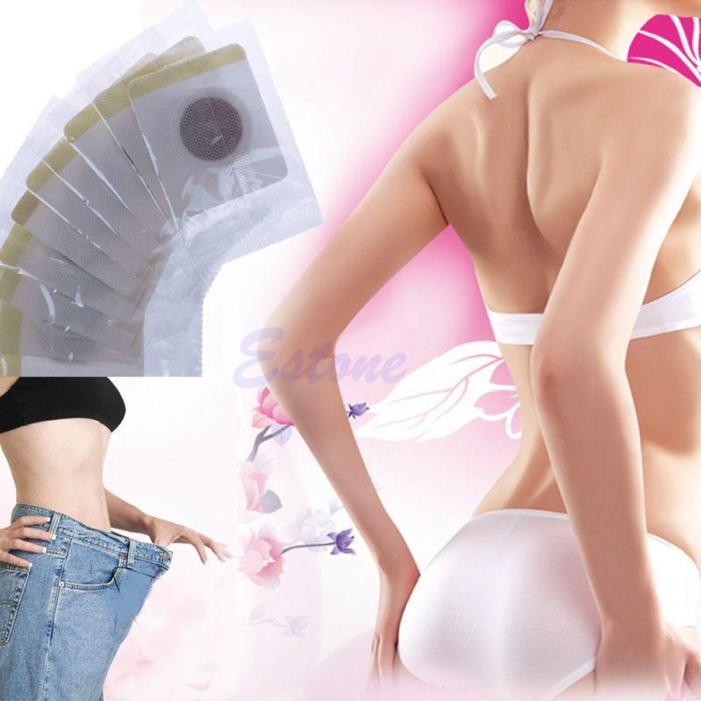 30pcs Magnetic Slim Patch Diet Slimming Weight Loss Detox Adhesive Pads Burn Fat