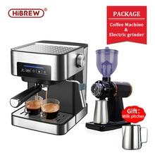 19-Bar Espresso Case Coffee-Machine Cafe-Powder Cappuccino Inox Hibrew Semi Automatic