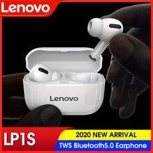 Lenovo lp1s tws esportes fone de ouvido bluetooth sem fio fones estéreo música alta fidelidade com microfone lp1 s para android ios smartphones