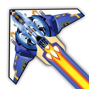 Ракета самолет 160*160 см Гигантские Воздушные Змеи для спорта на открытом воздухе летающий змей детская игрушка игра Семейные прогулки на отк...