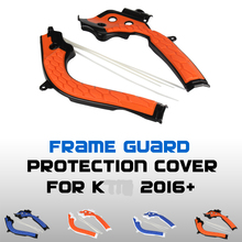 X Grip Frame Guard Protection Cover For Husqvarn TE FE FC  SX SXF EXC EXC F 125 150 250 300 350 450 Dirt Bike MX Motocross
