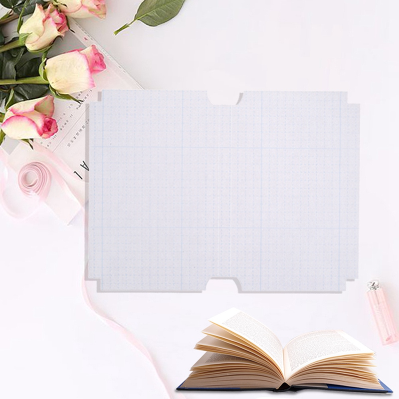 10sheets/set Transparent Self-adhesive Film Book Cover Slipcase Safety Waterproof Material For School Students image