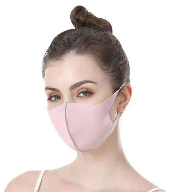 Bacteria Proof Flu Face Masks Care Reusable Cotton Mouth Mask Anti dust Mouth-muffle Washable Mask Fabric Face Mask D30 3