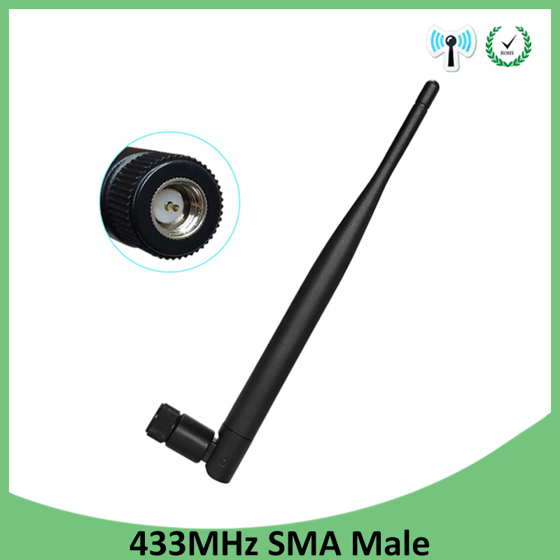 433MHz Antenna 5dbi SMA Male Connector Folding 433 Mhz Antena Waterproof Directional Antenne Wireless Receiver For Lorawan