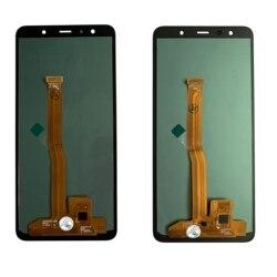 Супер AMOLED ЖК-дисплей для Samsung Galaxy A7 2018 ЖК-дисплей A750 ЖК-дисплей A750F SM-A750F A750FN A750G сенсорный экран дигитайзер в сборе
