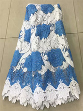 Nigerian Lace Latest 2019 Bridal Swiss Voile African French Fabric High Quality df1-1278