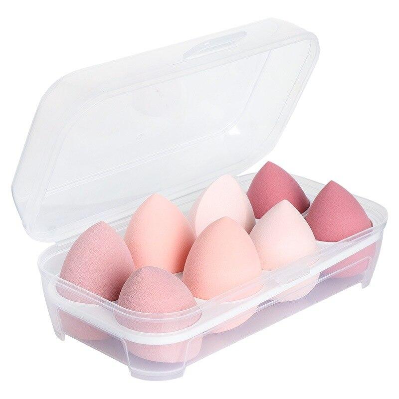 8 Pçs set Gradiente Caixa de Ovo