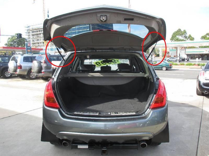 2 pcs Auto Tailgate Boot Gas Struts Syok Struts Damper Lift Mendukung - Suku cadang mobil - Foto 5