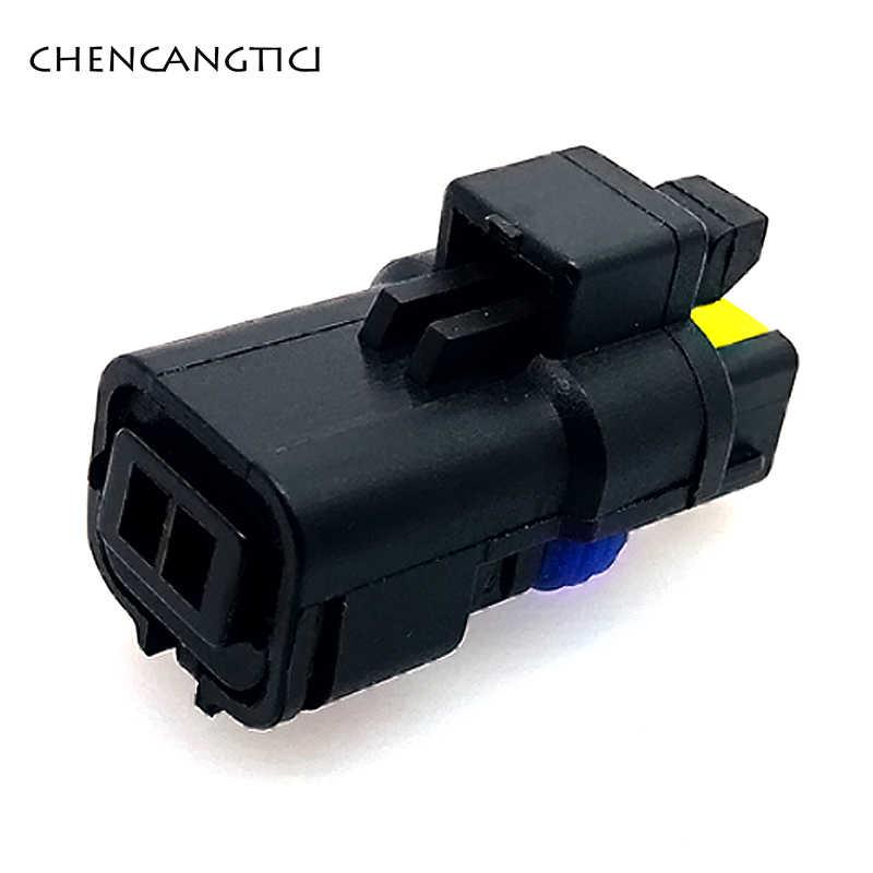 2 セット 2 ピンウェイ fci 女性水温センサープラグターン fo ランプルノープジョーシトロエン 211PC022S0049