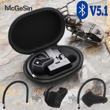 A7 TWS Bluetooth אוזניות ספורט אלחוטי אוזניות מוסיקה Earbud עמיד למים ריצה אוזניות רעש ביטול אוזניות עם מיקרופון