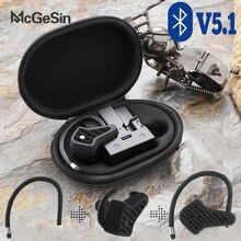A7 TWS audifonos bluetooth inalambrico deportivos auriculares inalámbricos Bluetooth V5.1 auriculares de música resistentes al agua para correr auriculares con cancelación de ruido con micrófono