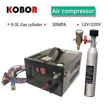 Pcp Lucht Pistool Elektrische Compressor 4500psi 300bar 30mpa Mini Pcp Pomp Incl. Transformator Voertuig Hoge Druk Lucht Compressor