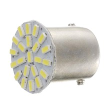 10Pcs 24V 1156 Ba15S 1206 22Smd Led Car Backup Reverse Turn Light Lamp White(China)