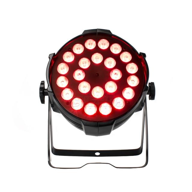 24x12W Led Par Light RGBW 4IN1 DMX DJ Light Disco 24x18W 6IN1 KTV Party Bar Stage 6/8 Channels Wedding Effect Equipment SHEHDS