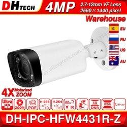 Камера видеонаблюдения Dahua IPC-HFW4431R-Z, инфракрасная антивандальная камера безопасности с функцией ночного видения, 60 м, 80 м, объектив VF, 2.7~12 мм, ...