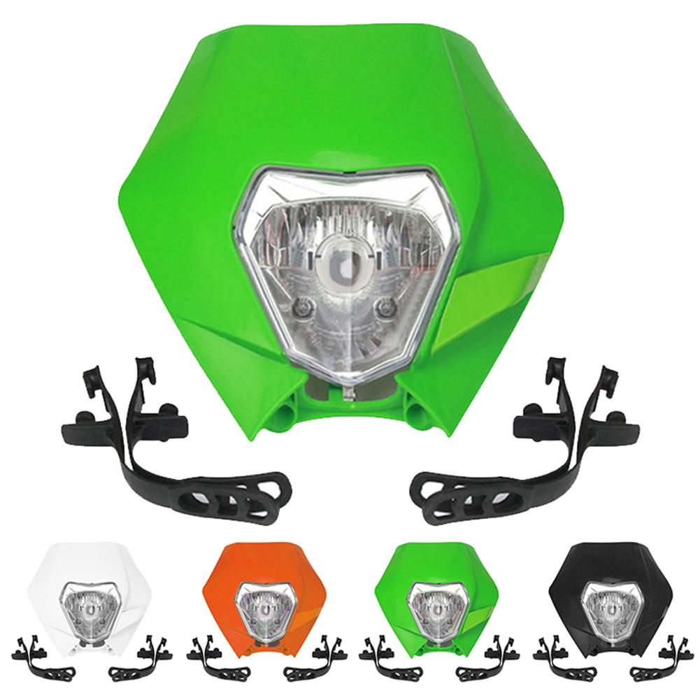 Motorcycle Motocross Dirt Bike Head Front Light...