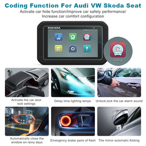 Image 3 - EUCLEIA S7C Full System OBD2 Scanner ABS EPB Airbag DPF Oil Reset ODB2 OBD 2 Code Reader With Portuguese PK MK808 Car Diagnostic