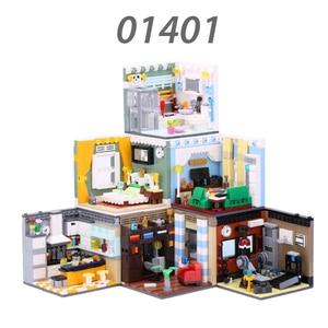 Image 1 - Xingbao 本市友人ハウスシリーズホームファニッシングと将来夢セットビルディングブロック教育レンガ juguetes
