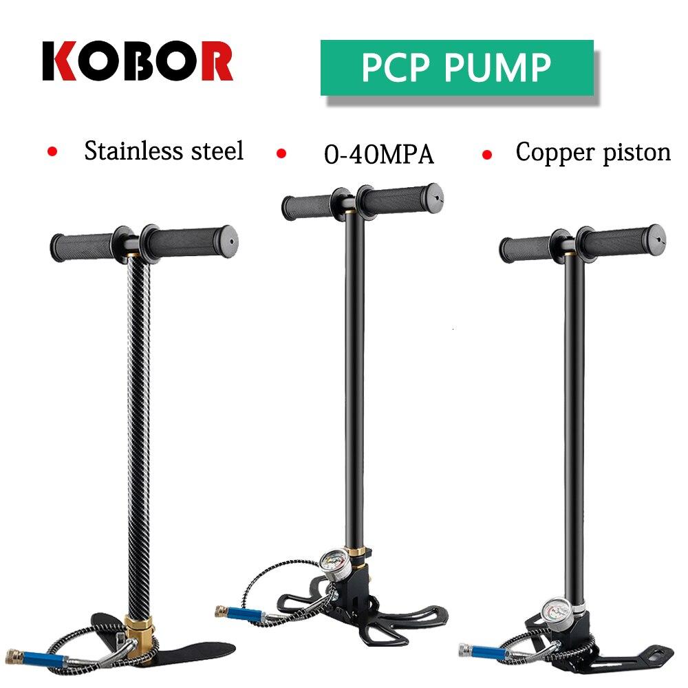 PCP 4500PSI 300bar 30mpa High Pressure Hand Air pump Hand Car Mini Air Gun Pump