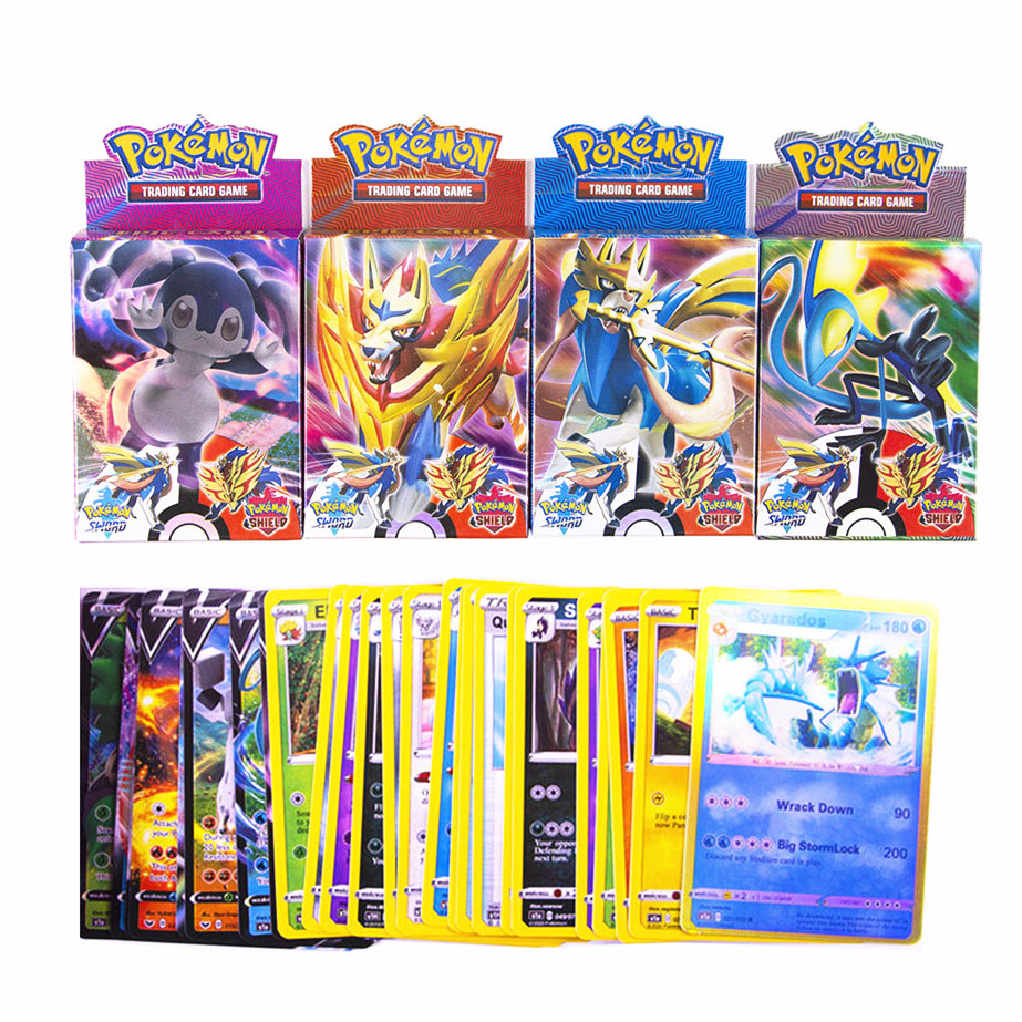 2020-newest-25pcs-box-font-b-pokemon-b-font-cards-sword-shield-vmax-cards-trading-card-game-kids-toys