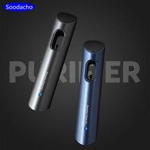 Soodacho Mini USB Car Anion Air Purifier 5V Auto Air Outlet Freshener Anion Ionic Car Perfume Air Freshener Ionizer In The Car