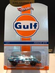 Hot Wheels Auto Gulf PORSCHE 917K Collector Edition Real Rijders Metal Diecast Model Auto Kinderen Speelgoed Gift