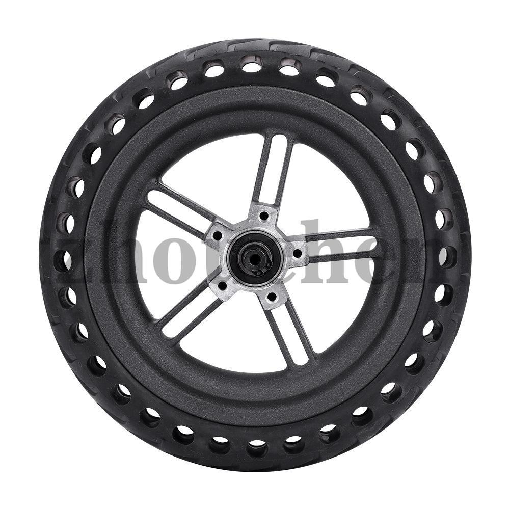 Electric Scooter Tire Anti-Skidding Wheels 21x21x5.5cm Wheel Hub Explosion-Proof Set for Xiaomi