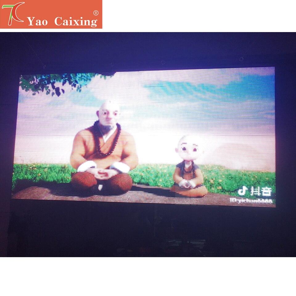 China Factory  Screen P3.91 Normal Brightness Transparent Curtain Wall Led Display