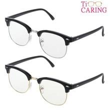 TiCARING Anti-Glare Anti-UV Gaming Reading Computer Digital Screen Eye Protection Glasses