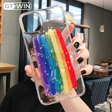 GTWIN Cute Glitter Rainbow Case For iPhone