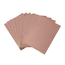 Circuit-Board FR4 10pcs Copper-Clad-Plate Glass-Fiber Printed DIY Durable School Double-Sided