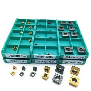 SPMG07T308 DG TT9030 SPMG07T308 DG TT8020 Carbide Insert U-Drilling Tool Lathe Tool SPMG 07T308 Indexable Milling Tool matched inserts spmg07t308 drilling bit indexable drilling tool u drill ud30 sp07 260 w25
