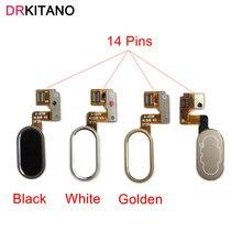 for Meizu M3 Note L681H Home Button Fingerprint Flex Cable Ribbon Meizu M3 Note Button Identification Sensor Flex Replacement