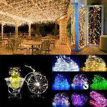 10m 50LED 100 LED string light USB power festival atmosphere fairy lights string Christmas wedding party decoration lighting