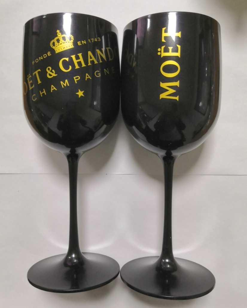 Mysteriou plastikowy akrylowy czara Moet kieliszek do szampana impreza okolicznościowa Drinkware Moet kieliszki do wina one piece