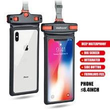 64 дюймов Водонепроницаемый touchcreen для телефона сумка общий