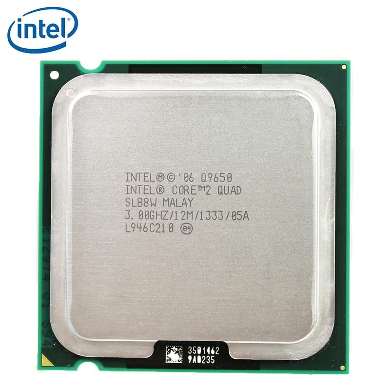 Intel Core 2 Quad Q9650 Processor 3.0GHz 12MB Cache FSB 1333 Desktop LGA 775 CPU tested 100% working 1