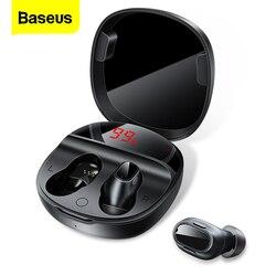 Baseus WM01 Plus TWS Wireless Earphone Bluetooth Headphone 5.0 True Wireless Earbud Headset In Ear Buds For iPhone 12 Pro Xiaomi