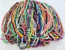 100 Strand Mixed Glass Beads 38pcs each strand in 10mm for women diy jewelry M10