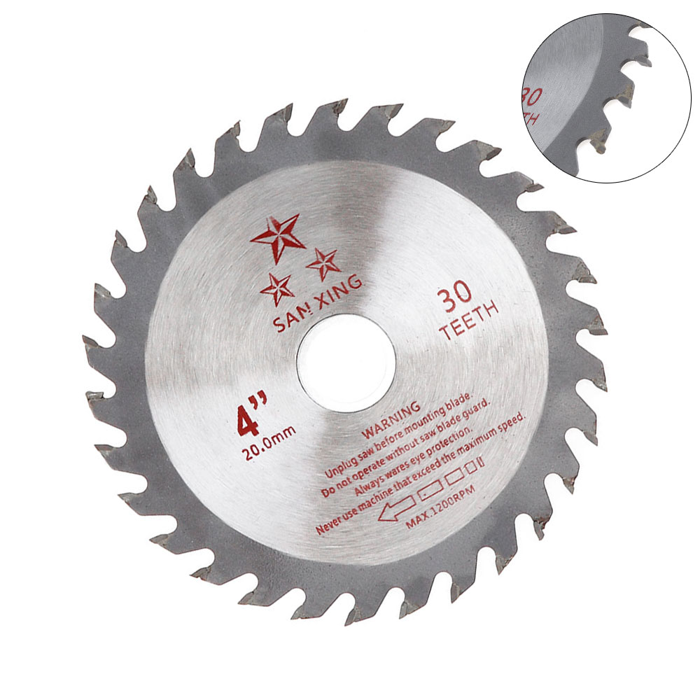110mm Circular Saw Blade Disc Wood Cutting Tool Aperture 20mm For Rotating Woodworking Tools