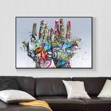 Современная художественная картина на Пальме с изображением