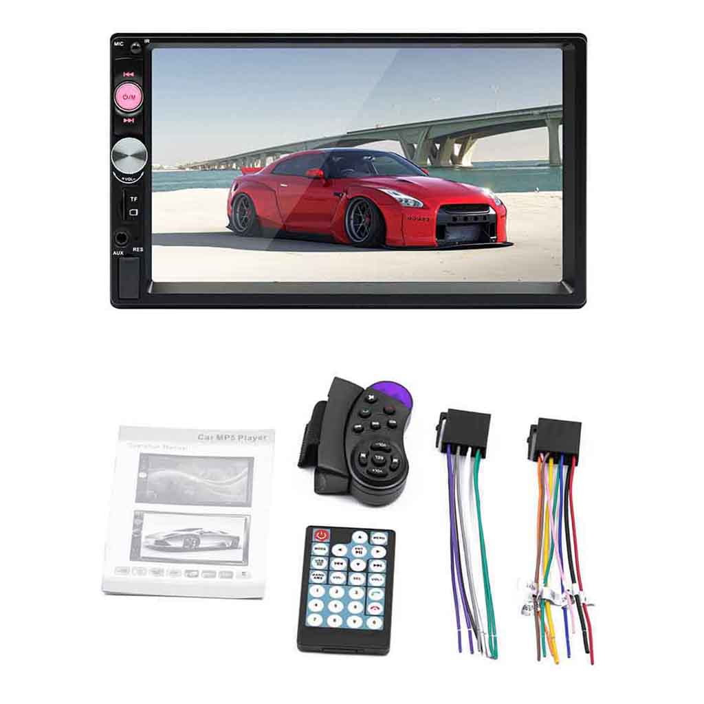 7 Inch FM Stereo Screen MP5 Stereo Headset Universal USB Connectivity And AUX Bluetooth