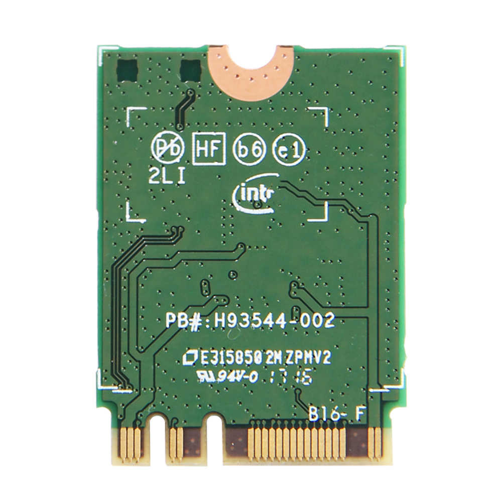 Kablosuz Dual Band 867Mbps Intel AC 8265 NGFF Wifi Ağ Kartı 8265NGW 2.4G/5Ghz 802.11ac bluetooth 4.2 8265AC Laptop Için
