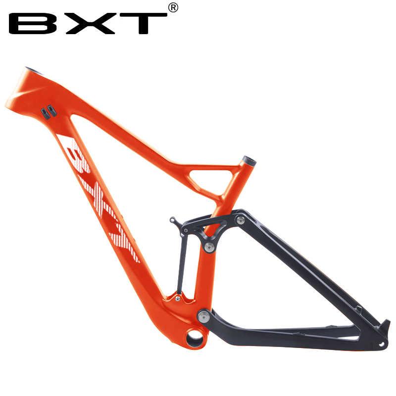 2019 plein cadre de VTT de carbone de Suspension 27.5er/29er 148mm amplifient le cadre de vélo de suspension 142mm cadre de vélo de carbone de vtt
