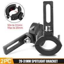 Bracket Head-Light-Lamp-Holder Mount-Clamp Bumper 20mm-31mm DERI Adjustable