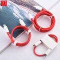 Original Oneplus 6,5 EINE Warp Schnell Ladegerät Kabel 35/ 100/150cm PD Usb 3,1 Typ C Zu Typ-C Linie Für 1 + 8T 8 7 7T Pro 6 6T 5 5T 3 3T