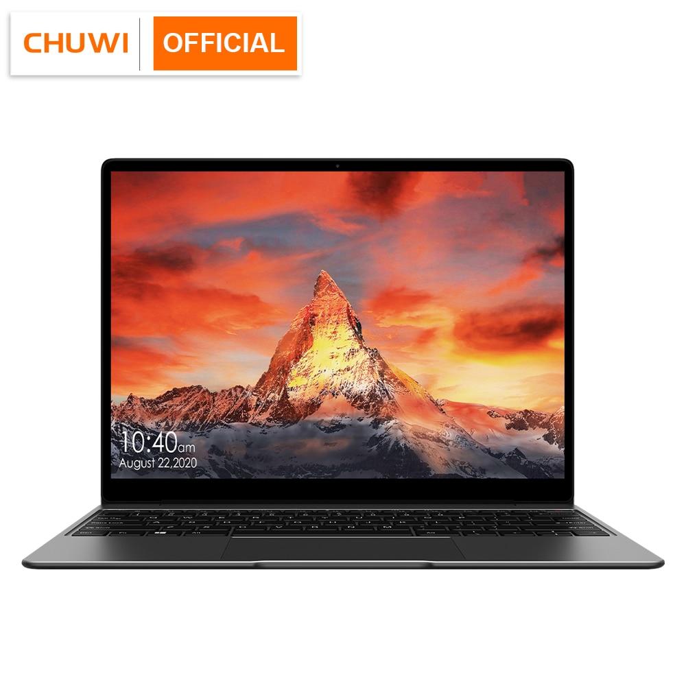 CHUWI GemiBook Pro 14 pulgadas 2K pantalla portátil 16GB RAM 512GB SSD Intel Celeron Quad Core Windows 10 computadora con Teclado retroiluminado
