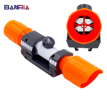 Universal For Nerf accessories Compatible Modified Part Front Tube Sighting Device / Toys Muffler for Nerf Sight Elite Series