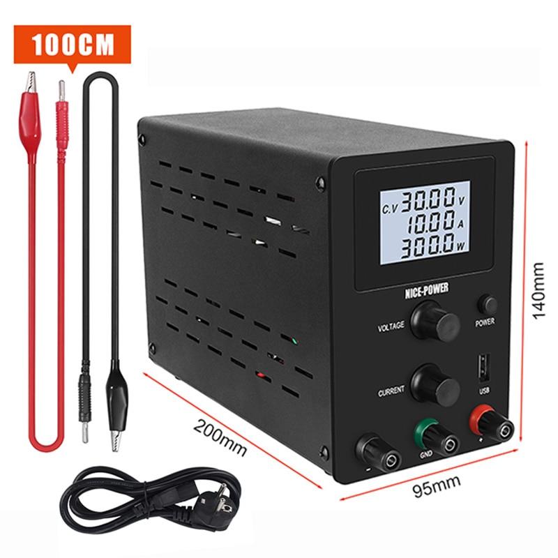 30V 10A Labor Netzteil Einstellbar Netzteil Spannung Stabilisator Mini Power Supply Voltage Regulator Laptop Reparatur Rework