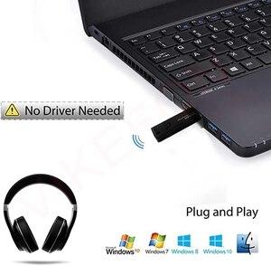 Image 3 - Bluetooth 5.0 + USB Máy Phát Âm Thanh Có Mic Aptx LL Độ Trễ Thấp Bass Sâu Tai Nghe Không Dây Tai Nghe Nhét Tai Dành Cho Tivi PS4 PC